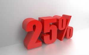 25-percent-1397180-m