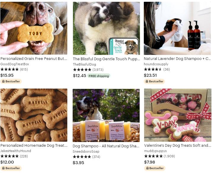 5 Etsy тренд 2020 Баловство домашних животных