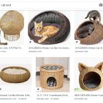 Аудит Etsy магазина. Ассортимент и Теги. Пример: домики для котов и собак из лозы