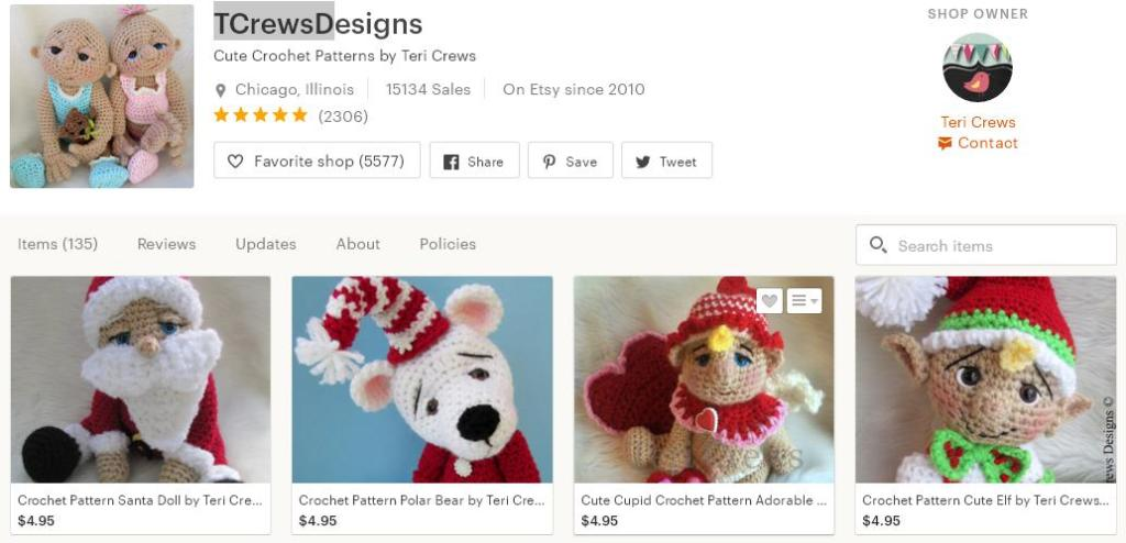 Что продавать на Etsy -  куклы магазин 6