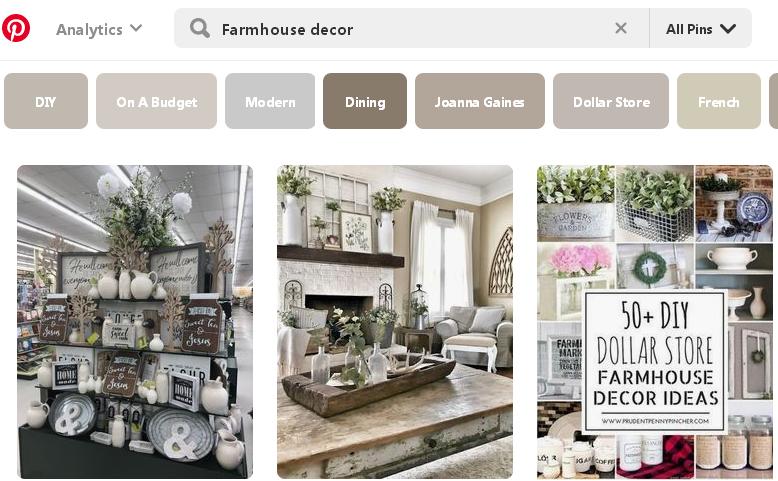 Pinterest как продавать за границу Farmhouse decor 1