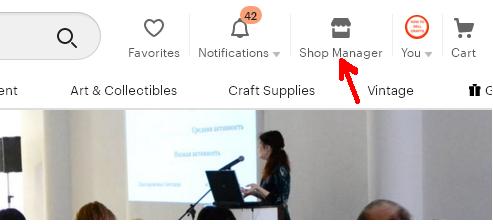 Etsy  магазин и Seller-Online