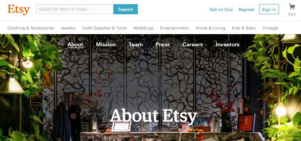 Где продать ручную работу - Etsy!